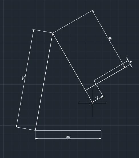 disegno supporto smartphone