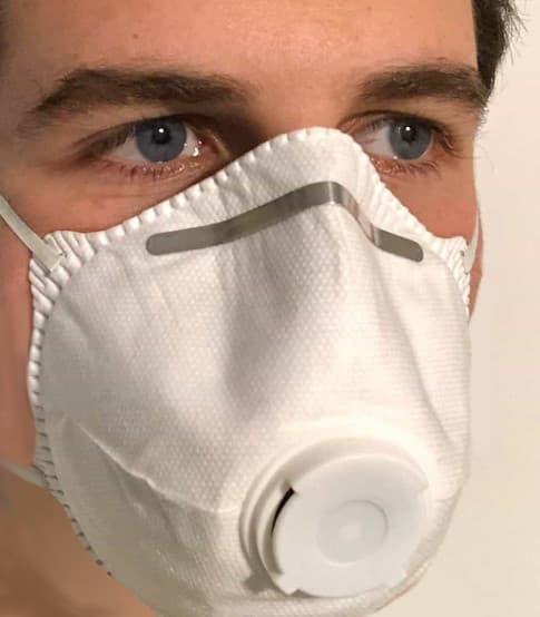 maschera antismog ffp3 3m